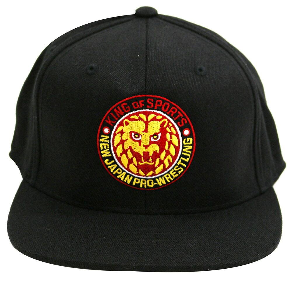 新日本プロレス NJPW ライオンマーク スナップバックキャップ 帽子