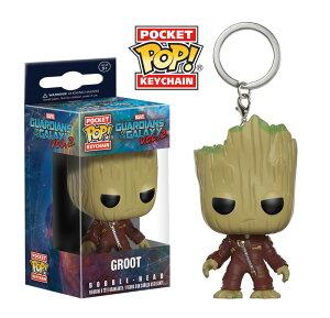 Marvel (マーベル) Guardians of the Galaxy Vol. 2(ガーディアンズ・オブ・ギャラクシー: リミックス) グルート FUNKO/ファンコ POCKET POP!キーチェーン