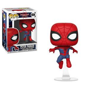 Marvel(マーベル) Spider-Man: Into the Spider-Verse(スパイダーマン: スパイダーバース) ピーター・パーカー(スパイダーマン) FUNKO/ファンコ POP! VINYL ミニフィギュア