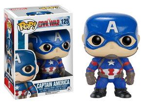 Marvel(マーベル)Captain America CIVIL WAR(キャプテン・アメリカ:シビル・ウォー) キャプテン・アメリカ FUNKO/ファンコ POP MARVEL VINYL ボブルヘッド