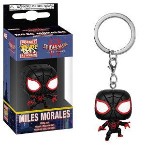 Marvel(マーベル) Spider-Man: Into the Spider-Verse(スパイダーマン: スパイダーバース) マイルズ・モラレス(スパイダーマン) FUNKO/ファンコ POCKET POP! ボブルヘッド・キーチェーン