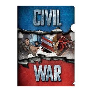 Marvel(マーベル) Captain America CIVIL WAR(キャプテン・アメリカ: シビル・ウォー) クリアファイル B [インロック]
