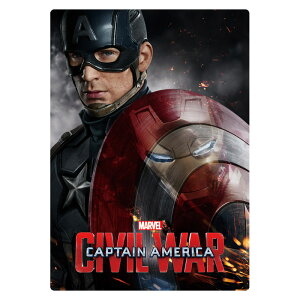 Marvel(マーベル) Captain America CIVIL WAR(キャプテン・アメリカ: シビル・ウォー) 下敷き [インロック]