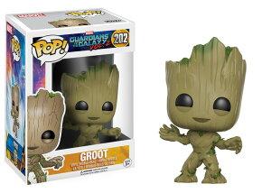 Marvel(マーベル) Guardians of the Galaxy Vol. 2(ガーディアンズ・オブ・ギャラクシー: リミックス) Groot(ベビー・グルート) FUNKO/ファンコ POP MARVEL VINYL ボブルヘッド