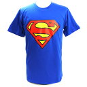 Superman(スーパーマン) ロゴ ブルーTシャツ【ラッピング対応不可】