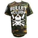 【US版】新日本プロレス NJPW BULLET CLUB(バレット・クラブ) Camo Tシャツ