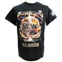 AEW Chris Jericho(クリス・ジェリコ) Change The Universe ブラックTシャツ