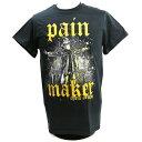 【US版】新日本プロレス NJPW Chris Jericho (クリス・ジェリコ) Painmaker ブラックTシャツ