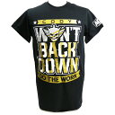 AEW Cody(コーディ) Won't Back Down ブラックTシャツ