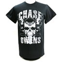 【BD SALE!!! 2160円Tシャツ】新日本プロレス NJPW Chase Owens(チェーズ・オーエンズ) Chase Skull ブラックTシャツ