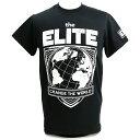 【XXLサイズ】The Elite(ジ・エリート) Change The World ブラックTシャツ