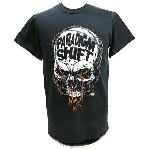 AEW Jon Moxley(ジョン・モクスリー) Paradigm Shift ブラックTシャツ