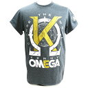 【XXLサイズ】AEW Kenny Omega(ケニー・オメガ) Golden K チャコールTシャツ