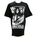 W★ing レザーフェイス ブラックTシャツ