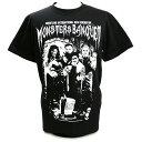 W★ing モンスターズ・バンクェット ブラックTシャツ