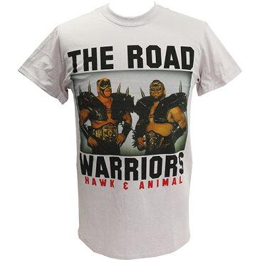 WWE Road Warriors(ロード・ウォリアーズ) Classic ライトグレーTシャツ