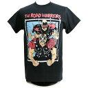 【XXLサイズ】WWE Road Warriors(ロード・ウォリアーズ) Championship Wrestling ブラックTシャツ