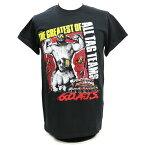 WWE Road Warriors(ロード・ウォリアーズ) G.O.A.T. ブラックTシャツ