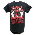 WWE Road Warriors(ロード・ウォリアーズ) Weasel Slappers ブラックTシャツ