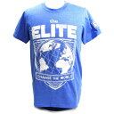 The Elite(ジ・エリート) Change The World Exclusive チャコールブルーTシャツ