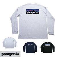 パタゴニアロンTロングTシャツ長袖TシャツメンズP-6ロゴロングスリーブレスポンシビリティーTシャツpatagoniaP-6LogoLongsleeveResponsibiliT-Shirt半袖TシャツP6ロゴ■品番38518