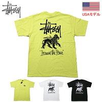 ステューシーTシャツSTUSSYITPLIONTEETシャツ半袖TシャツSTUSSYストックロゴ■品番1904477