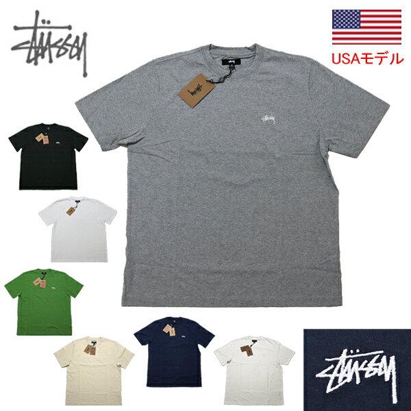 トップス, Tシャツ・カットソー  T T 1 STUSSY TSTOCK LOGO SSL CREW 1140241