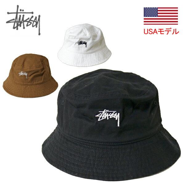 メンズ帽子, ハット  STUSSY STOCK BUCKET HAT 1 1321023