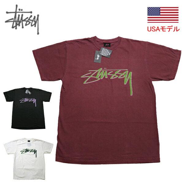 トップス, Tシャツ・カットソー  T STUSSY SMOOTH STOCK PIG.DYED TEE T T 1904638
