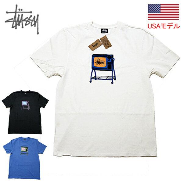 トップス, Tシャツ・カットソー  T STUSSY ROLLING TV PIG. DYED TEE T 1904672