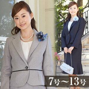 [七五三/753/ママ/スーツ]フリル袖ジャケットの3点セット(130516362)[入学式/…