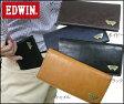 <送料無料>EDWIN エドウィン 財布 グレイン合皮Wメタル長財布 12289937
