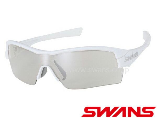 【送料無料】SWANS スワンズ サングラス ミラーレンズモデル STRIX H-0712 W