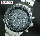 送料無料 エルジン ELGIN ワ-ルド5 世界4地域、5局対応電波受信機能 電波ソーラー 腕時計 FK1412S-BP