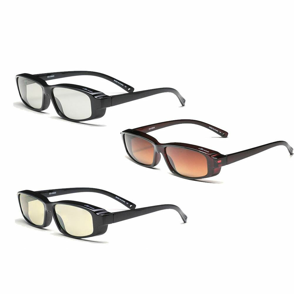 【取り寄せ・同梱注文不可】 ellesse エレッセ メガネの上からかけられるオーバーサングラスSサイズ ES-OS03【バレンタイン】 【卒業式】 【入学式】