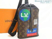 【新古品】ルイヴィトンLOUISVUITTONモノグラムチョーク・スリングバッグ巾着型斜め掛けショルダーバッグボディバッグバックパックM44625【中古】