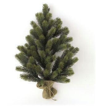 壁掛け式 クリスマスツリー 60cm RSグローバルトレード ドイツ クリスマス インテリア ディスプレイ オブジェ ギフト プレゼント お祝い【宅配便配送】