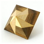 DoublePyramid,ダブルピラミッド,木製,パズル,トリックパズル,立体パズル,知育,脳トレ,寄木細工,からくり,チェコ,VIN&CO,北欧,小物,インテリア,オブジェ,ギフト,プレゼント,お祝い