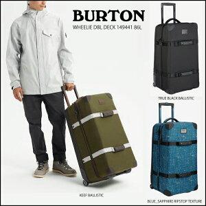 【BURTON bag】バートン バッグ WHEELIE DBL DECKウィール ダブルデッキ,149441 容量:86L キャリーバッグ※送料無料