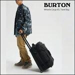 【BURTON】WheelieCargo65LTravelBag11606110001TRUEBLACKBALLISTIC