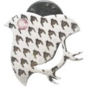 (10月)ピンクトルマリン ダブル チドリ シルバー ピンバッジ ピンズ*SWANKY(スワンキー) 誕生石