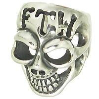 BWL(ビルウォールレザー) FTWマスタースカル シルバーリング(指輪)Master Skull