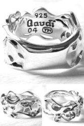 ハードアートシルバーリング(指輪)*Gaudi(ガウディジュエリー)【送料無料、決済手数料無料】