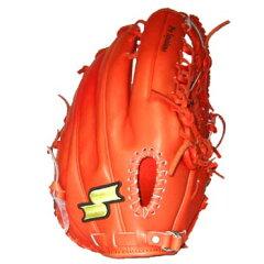 エスエスケイ(SSK) 70%OFF 「ウィングフィールド」硬式外野手用グラブ WFG-19 レディッシュオレンジ
