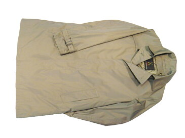 FRANCO PRINZIVALLI 軽量 メモリーシャンブレー シングルトレンチ ハーフコート ダウンライナー付 ベージュ イタリアのサルトを