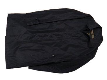 FRANCO PRINZIVALLI 超軽量 メモリーシャンブレー ステンカラーハーフコート ダウンライナー付 ネイビー 2016年秋・冬モデル イタリアのサルトを