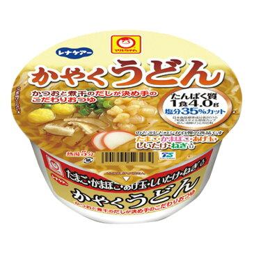 日清 レナケアー かやくうどん 75.9g カップ麺 カップラーメン [腎臓病食/低たんぱく食品/たんぱく調整]