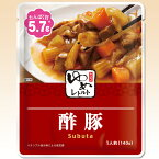 ゆめレトルト 酢豚 140g [腎臓病食/低たんぱく食品/低たんぱく おかず]