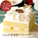 【予約販売】【冷凍】たんぱく調整 ホールケーキ クリスマスケーキ 低たんぱく【12月14日〜25日のお届け】