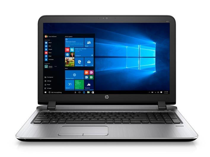 HP ProBook 450 G3 Core i3(Skylake) 4GB 500GB DVDマルチ Windows7Pro64bit(Windows10ProDG) 無線LAN IEEE802.11a/b/g/n/ac Bluetooth USB3.0 10キー 15.6型液晶 office無し:Bサプライズ